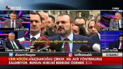 Cem Küçük: Kılıçdaroğlu bedelini ödemek zorunda