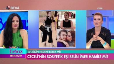 Mustafa Ceceli'nin eşi Selin İmer hamile mi?