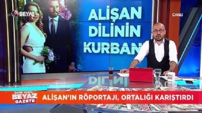 Alişan'ın röportajı ortalığı karıştırdı
