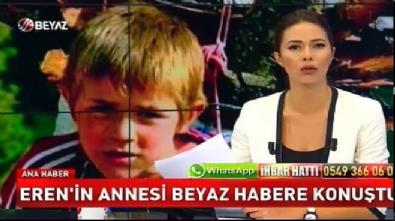 Oğlunun lastik ayakkabılarını giyen Eren Bülbül'ün annesinden Beyaz Haber'e özel açıklama