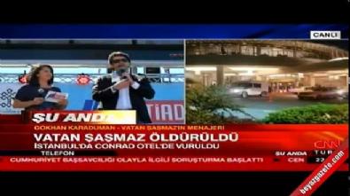 Vatan Şaşmaz'ın menajeri Gökhan Karaduman'dan ilk açıklama