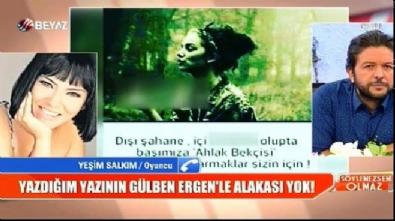 Yeşim Salkım'dan Gülben Ergen'le ilgili olay itiraflar