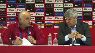 Türkiye - Ukrayna maçının ardından - Lucescu (2) - ANTALYA