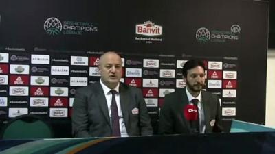 Banvit-UCAM Murcia basketbol maçının ardından - BALIKESİR