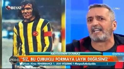 Abdulkerim Durmaz: Siz bu formaya layık değilsiniz Video