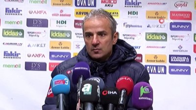 İsmail Kartal: 'Net gol pozisyonlarımız yoktu'