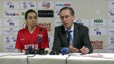 Basketbol - BOTAŞ-Yakın Doğu Üniversitesi maçının ardından - MARDİN