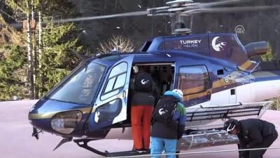 Bakan Bak, Kaçkar Dağları'nı havadan inceledi - RİZE İzle