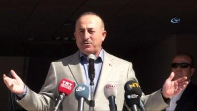 Bakan Çavuşoğlu Büyükşehir Belediyesi Ek Hizmet Binası açılışına katıldı