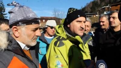 Bakan Osman Aşkın Bak helikopterle Kaçkar Dağları'nda yaptığı incelemeyi değerlendirdi