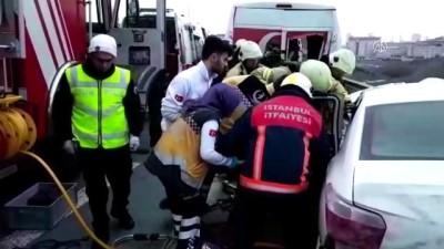 Başakşehir'de trafik kazası: 1 Ölü - İSTANBUL İzle