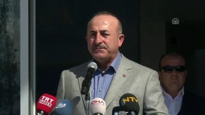 Dışişleri Bakanı Mevlüt Çavuşoğlu, Antalya'da açılışa katıldı