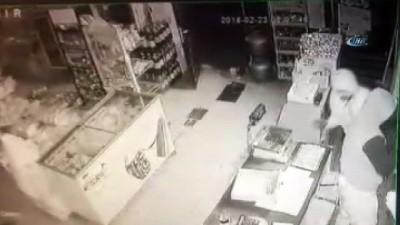 Kiralık araçla 3 ilde sigara hırsızlığı yapan şahıslar kamerada İzle