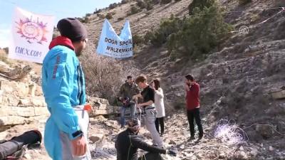 'Sakin kent Uzundere' ekstrem sporcularının gözdesi - ERZURUM İzle