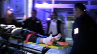 Seydişehir'de trafik kazası: 4 yaralı İzle
