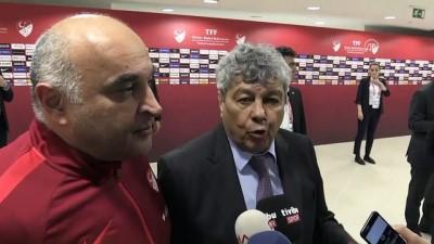 Milli maçın ardından - Teknik direktör Lucescu - ANTALYA Haberi