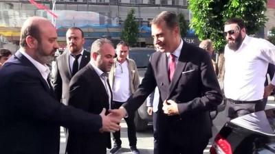Beşiktaş Kulübü Başkanı Fikret Orman, Çorum'da