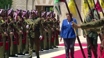 Almanya Başbakanı Merkel, Ürdün'de - AMMAN