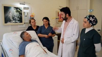 Antalya'da hastanın karnından çıkanlar şoke etti