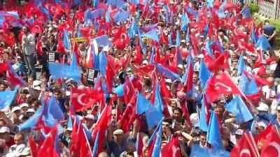 """Başbakan Yıldırım: """"Bu millete hizmet edeni milletimiz asla yalnız bırakmaz"""" - ANKARA"""