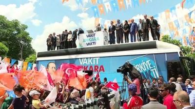 Başbakan Yıldırım, Mamak'ta düzenlenen mitinginde halka seslendi - ANKARA
