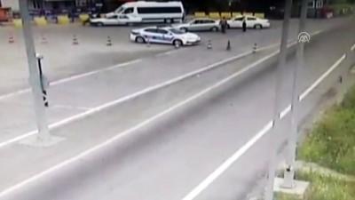 Cezaya kızan sürücü aracını polisin üzerine sürdü - SİVAS