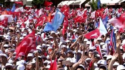 Cumhurbaşkanı Erdoğan: 'Bu meydanda aşk var aşk' - KAHRAMANMARAŞ