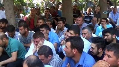 Fırat Nehri'nde boğulan kuzenler yan yana defnedildi