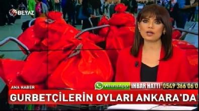 Gurbetçilerin oyları Ankara'da!