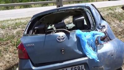 Kahramankazan'da trafik kazası 2 yaralı