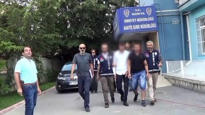 Konya'daki silahlı kavga - Gözaltına alınan 7 kişi adliyeye sevk edildi - KONYA