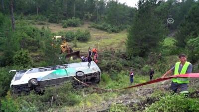 Otobüs kazası - 1 ölü, 24 yaralı (3) - BURSA