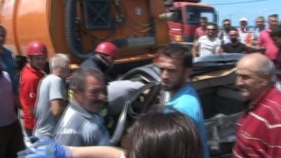Rize'de 1 kişinin öldüğü o kazanın güvenlik kamera görüntüleri ortaya çıktı