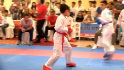 Uluslararası Dekai-do Karate Turnuvası Denizli'de başladı - Turnuvaya 9 ülke ve 20 kentten 844 sporcu katıldı - Turnuva yarın gerçekleştirilecek final karşılaşmaları ile sona erecek