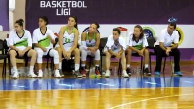 Burhaniye'de Basketbol Federasyon Kupası maçları başladı İzle