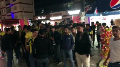 Fenerbahçe - Beşiktaş maçı öncesinde Tokatlı taraftarlardan örnek davranış