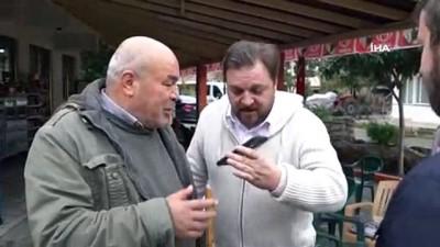 Metin Şentürk önce görme engelli hayranıyla telefonda konuştu, sonra ziyaret etti