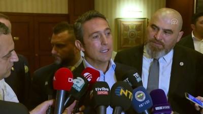 Fenerbahçe Kulübü Başkanı Koç: '(Hakem hataları) Bize göre kurgulanmış bir düzen var burada' - İSTANBUL
